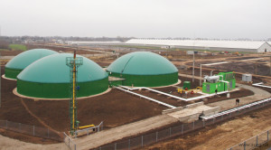 biogas from wastewater